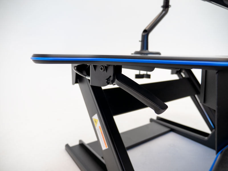 Eureka 46 XL Standing Desk Converter - Lift Mechanism