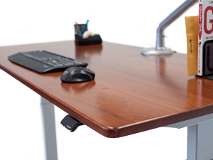natural wood standing desk reviews