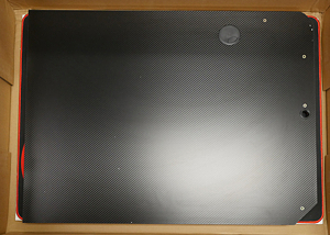 The right side of the Z60 Gaming Desk's top.