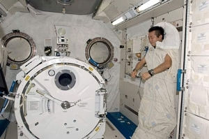 sleeping astronaut position